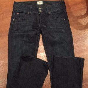 Hudson 27 bootcut low rise jeans